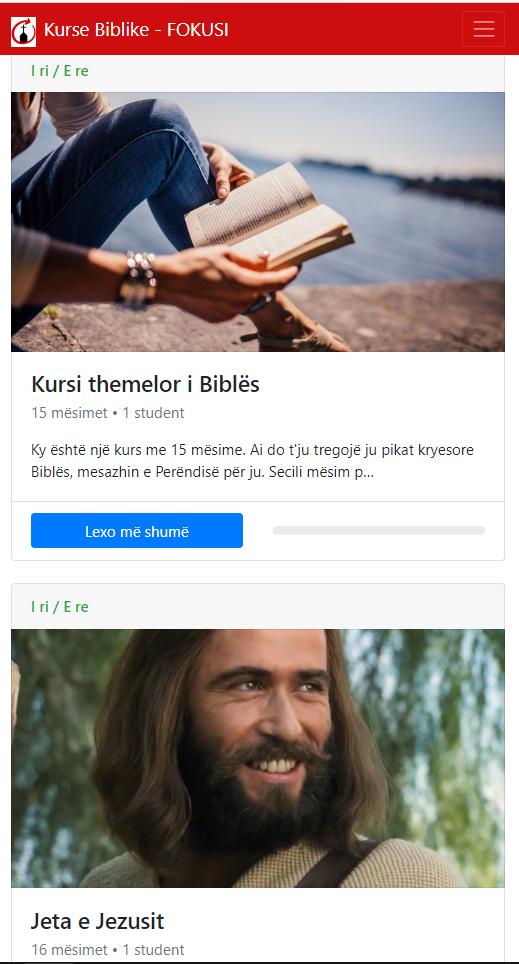 Kurse biblike