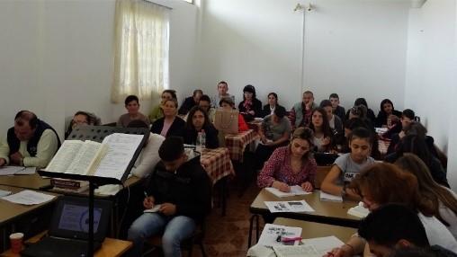 Trajnim në kishën lokale